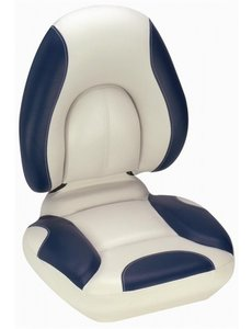 Attwood Centric Fully Upholstered Off White/Blue