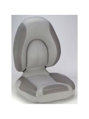 Attwood Centric Fully Upholstered Gray/Smoke
