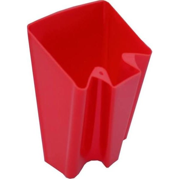 Plastic bailer Red