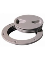 "Tempress Deck Plate Dark Gray 4"" Screw Out"