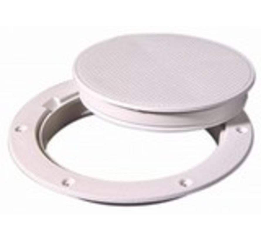 """Deck Plate White 6"""" Pry Out"""