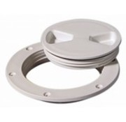 "Tempress Deck Plate White 8"" Screw Out"