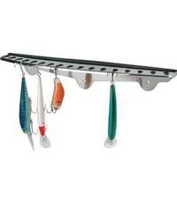 Fish-On! Stainless Steel Folding hook rack**