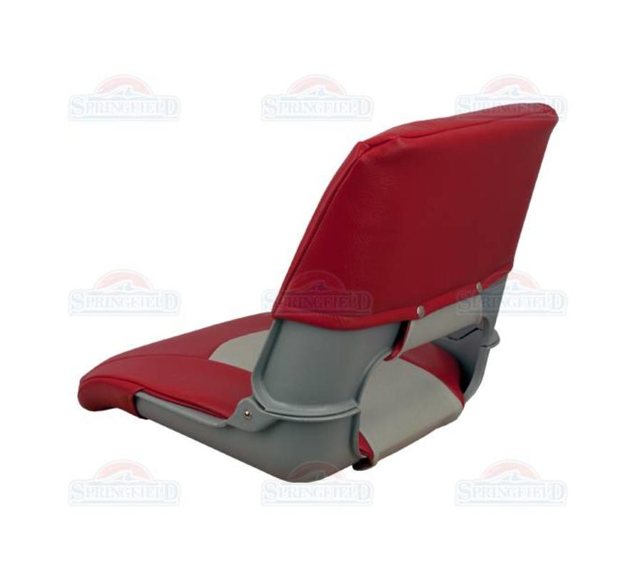 Skipper Bootsstuhl grau / rot
