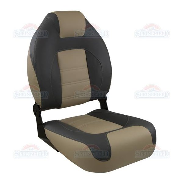 Springfield OEM Series Folding High Back Boat Seat C&T