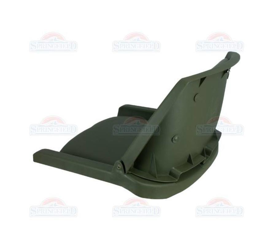Traveler Green / Green boat seat