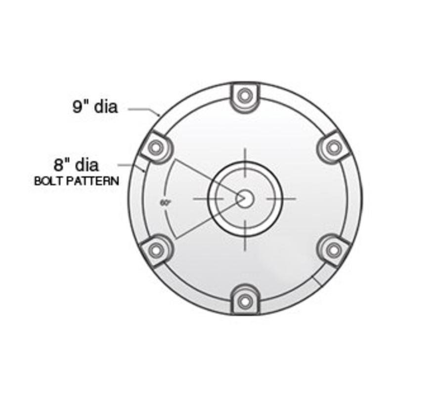 "Plug In Base 2-3/8"" ( 6 cm)"