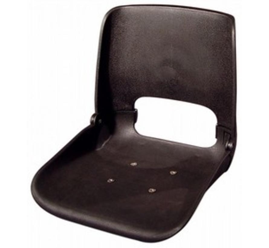All Weather boat seat without upholstery Black