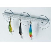 "BoatMates 12"" Hook rack White"