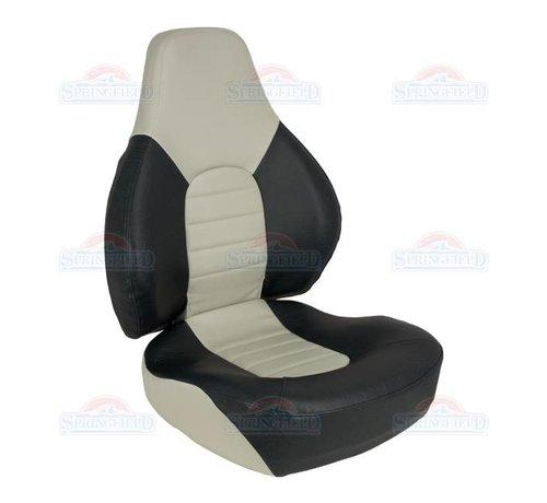 Springfield Fish Pro 100 boat chair Light gray with dark gray