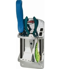 Fish-On! Stainless Steel Knife & Pliers Caddy**