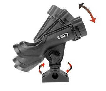 Scotty 230 Powerlock rod holder with side / deck mounting (241)