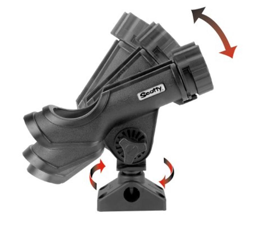 230 Powerlock Hengelhouder met zij/dekmontage (241)
