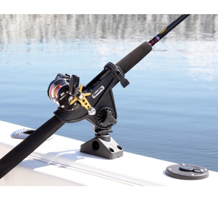 280 baitcaster / Spinning Rod holder med sido / däcksmontage (241)