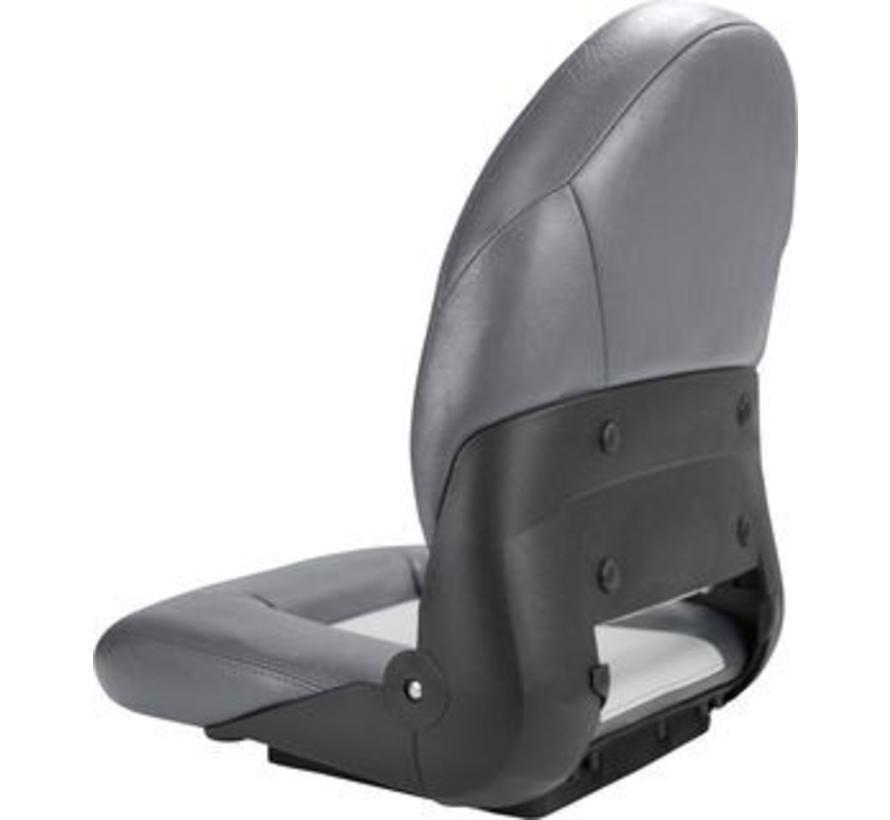 Navi Style ™ High Back Chair Boot-Charcoal / Grau