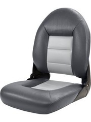 Tempress Navi Style High Back Chair Boot-Charcoal / Grau