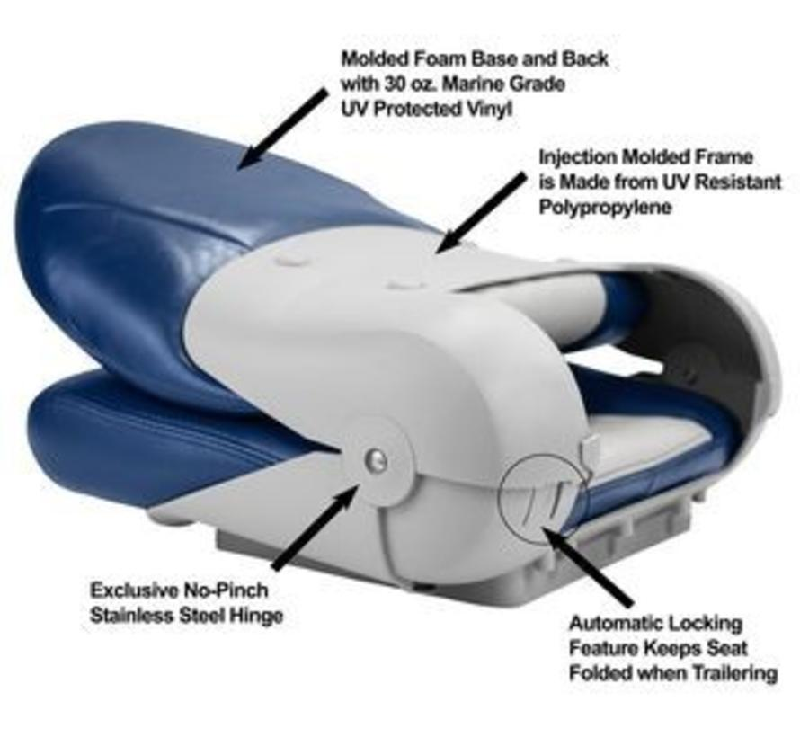 Navistyle™ High Back Bootstoel Blue/Gray
