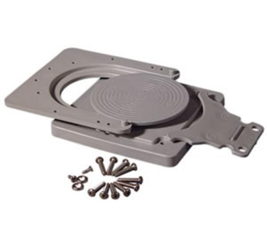 Schnellkupplungs-Montagesatz Grau