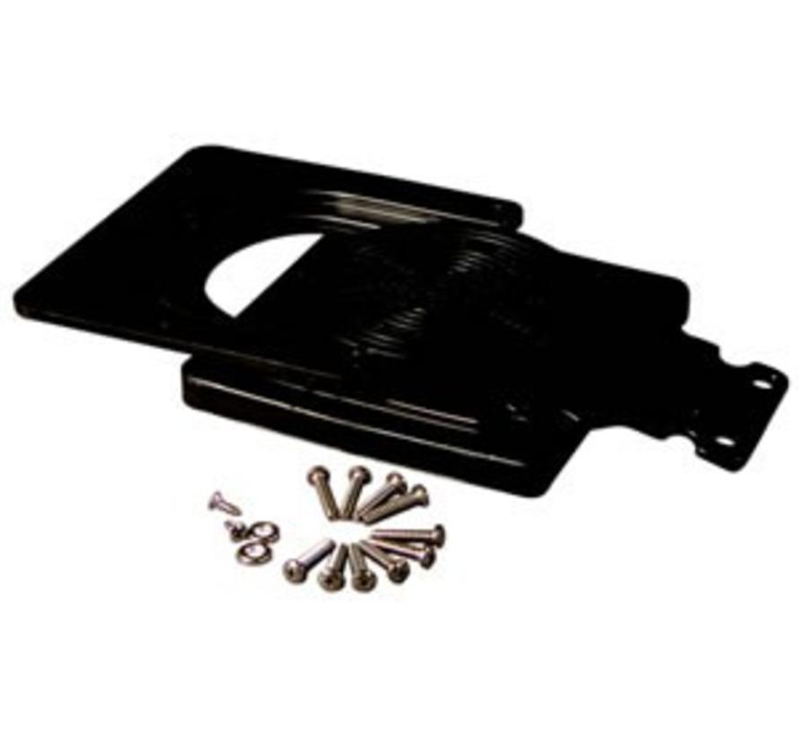 Schnellkupplungs-Montagesatz Schwarz