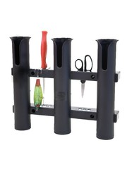 Fish-On! Triple Tube Rod Holder Black