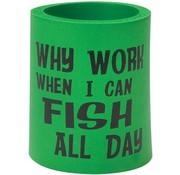 BoatMates Kan Cooler Varför arbete när jag kan fiska hela dagen