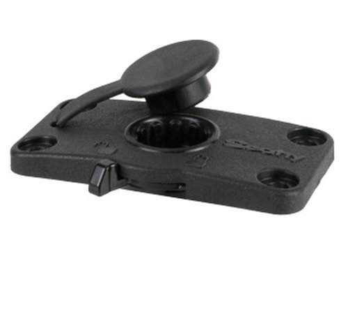Scotty 244L Locking Flush Deck Mounting Bracket