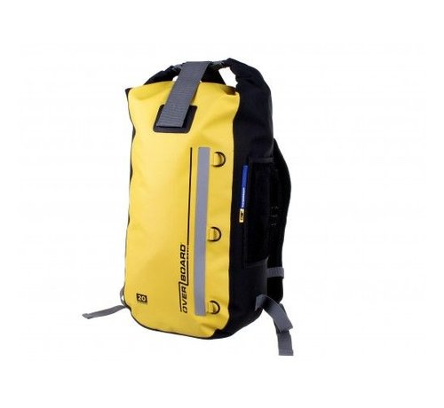 OverBoard Classic Waterproof Backpack - 20 Litres Gelb