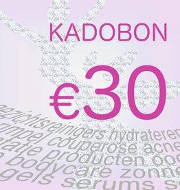 Divers Kadobon 30 euro