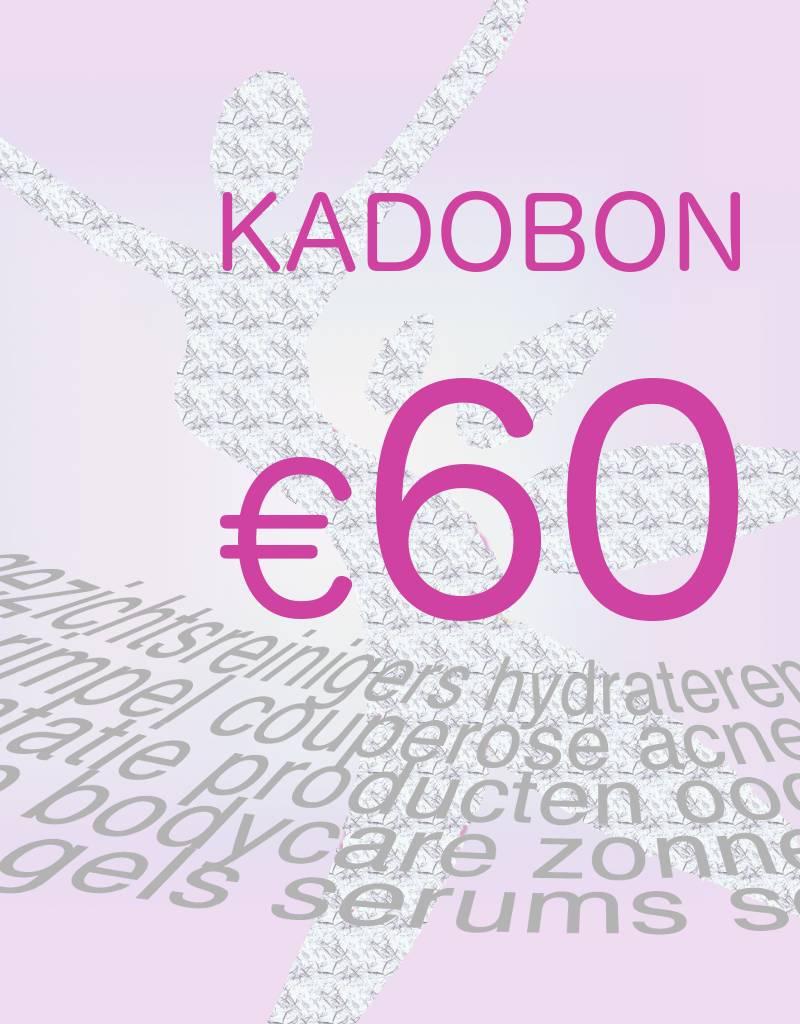 Divers Kadobon 60 euro