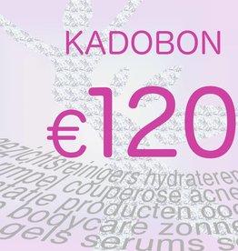 Chèque Cadeau 120 euros
