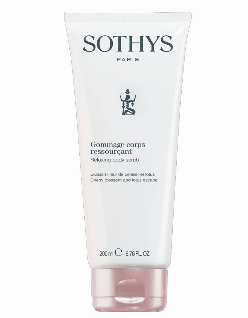 Sothys Sothys Relaxing Body Scrub Evasion Fleur Cerisier Et Lotus