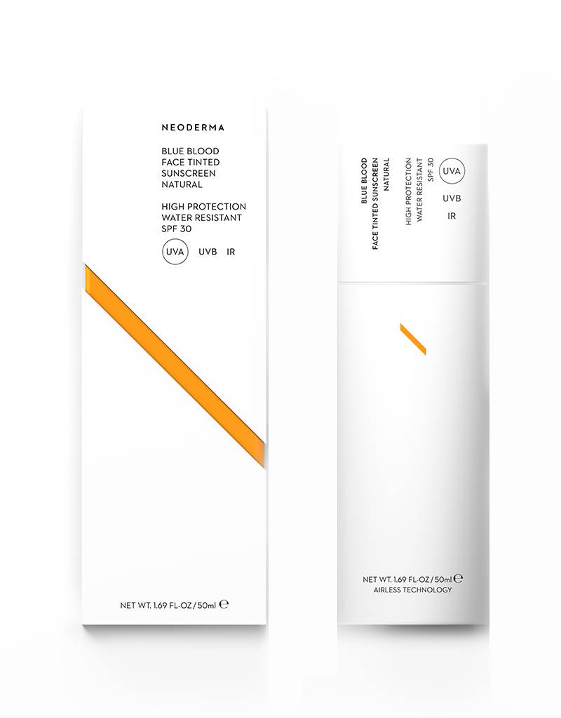Neoderma Neoderma Blue Blood Face Tinted Sunscreen Natural SPF30