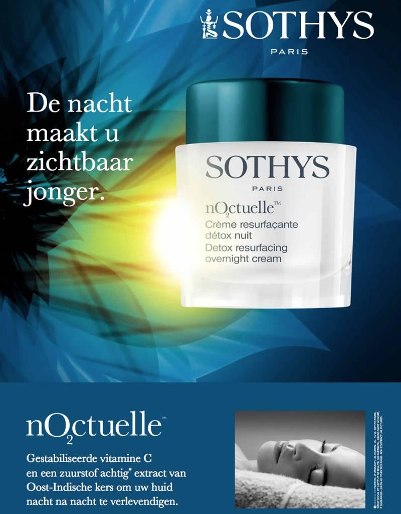 Sothys Sothys Crème Resurfacante Détox Nuit Noctuelle + Maskers