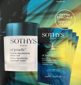 Sothys Crème Resurfacante Détox Nuit Noctuelle + Maskers