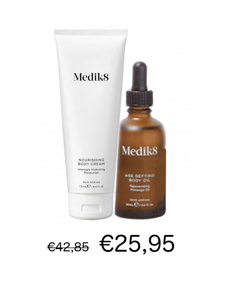 Medik8 Medik8 Duo Nourishing Body Cream 150 ml + Age Defying Body Oil