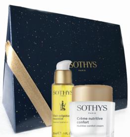 Sothys Kadobox Duo: Creme Nutritive Confort + Elixir Relipidant