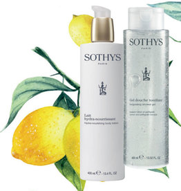 Sothys Duo Body Lotion 400 ml + Shower Gel Citron Petitgrain 400 ml