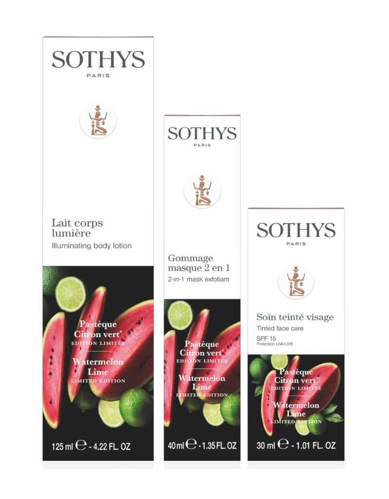 Sothys Sothys Trio Face & Body Pasteque Citron Vert