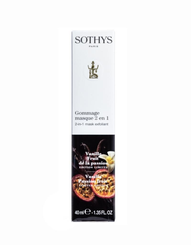 Sothys Sothys Gommage Masque 2 in 1 Vanille Passievrucht