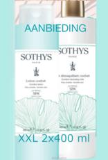 Sothys Sothys 2021 Promo Duo Reinigingsset Confort SPA 2x400 ml