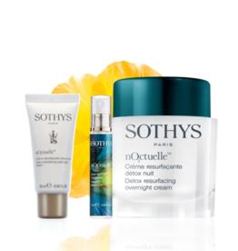 Sothys Offre Noctuelle : Crème de nuit 50 ml + Spray d'oreiller + Crème format voyage 15 ml