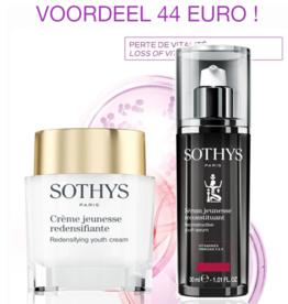 Sothys Duo Jeunesse Creme Redensifiante + Serum Reconstituant