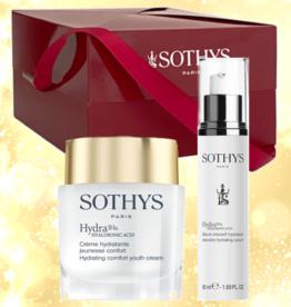 Sothys Coffret Noel  2021 Duo 3Ha Hydra Jeunesse Confort Creme + Serum