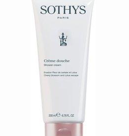 Sothys Creme Douche Fleur de Cerisier et Lotus
