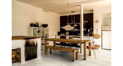 Laminaat woonkamer en keuken
