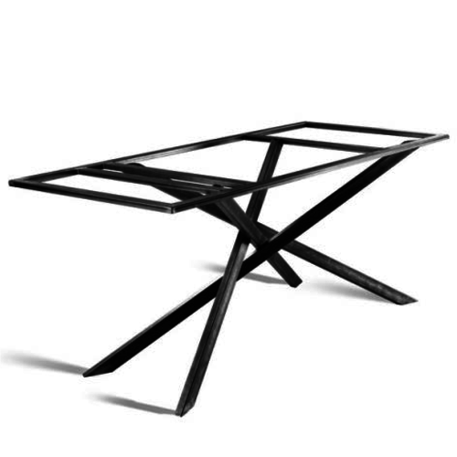 Mikado 3D onderstel groot - gecoat staal, antraciet, zwart