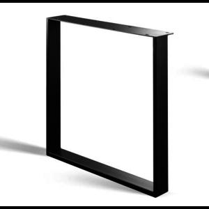 U-poot - gecoat staal, antraciet, zwart