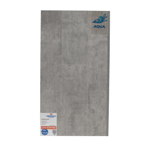 Laminaat Aquastone grey