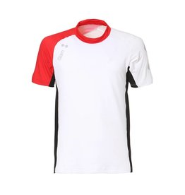 Slam WIN-D BREEZE T-SHIRT SS Heren shirt - Wit/Rood/Zwart (E15)