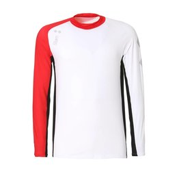 Slam WIN-D BREEZE T-SHIRT LS Heren shirt - Wit/Rood/Zwart(E15)